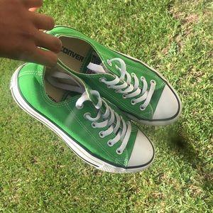 Green Chuck Taylor Converse